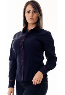 Camisa Pimenta Rosada Da Luna - Feminino-Azul+Vermelho