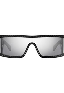 ... Moschino Eyewear Óculos De Sol Quadrado - Preto 23398ae175