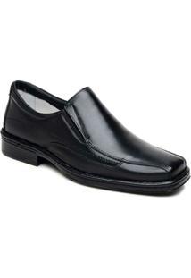 Sapato Masculino Confortável Bico Quadrado Cla Cle - Masculino