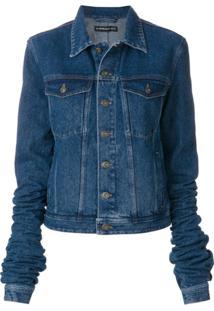 Y/Project Jaqueta Jeans Com Mangas Exageradas - Azul