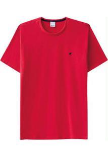 Camiseta Vermelho Malwee