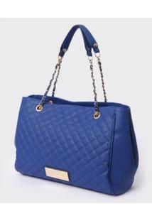 Bolsa Adulto Soft Azul - Loucos & Santos. - Un