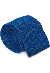 Gravata Tricot - Azul