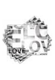 Jogo Americano - Love Com 4 Peças - 184Jo