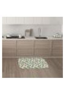 Tapete De Cozinha Mdecore Abstrato Colorido 40X60Cm