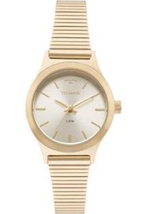 Zattini. Relógio Feminino Unissex Vidro 2016 Technos Dourado ... 2a5cbc539d