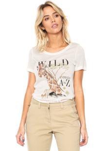 Camiseta Mob Girafa Off-White