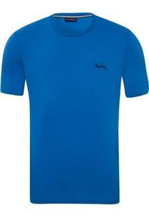 Camiseta Lisa Azul Havai