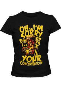 Camiseta Blitzart Break Your Concentration - Preta