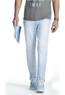 Calça Masculina Skinny Em Jeans Com Desgastes Hering