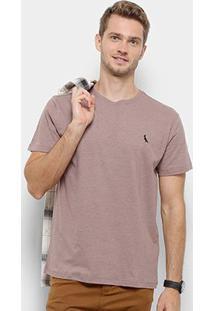 Camiseta Reserva Mescla Paris Masculina - Masculino-Rosa Escuro