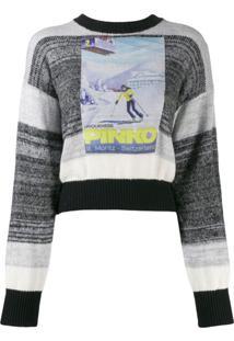 Pinko Suéter 'St Moritz' - Cinza