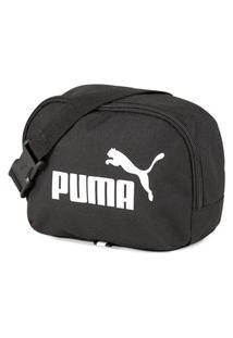 Pochete Puma Phase Waist Bag Unissex - Unico - Preto Preto
