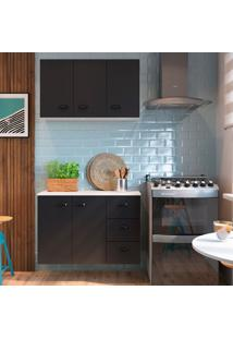 Cozinha Compacta Mia Coccina 5 Pt 3 Gv Preta