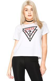 Camiseta Guess Washed Branca - Kanui