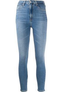 Calvin Klein Jeans Calça Jeans Skinny - Azul