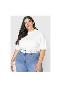 Camiseta Colcci Lisa Branca