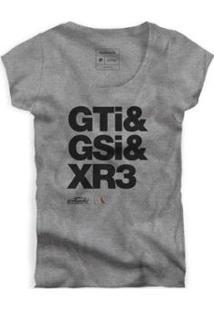 Camiseta Reserva Gti Fem Masculina - Masculino-Cinza