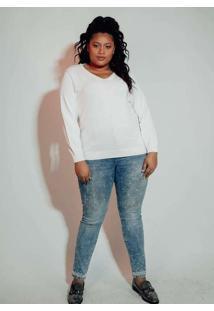 Blusa Almaria Plus Size Kalanchoe Tricot Freddo Br