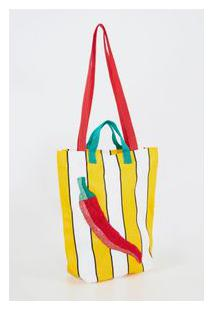 Bolsa Feira Pimenta - Multicolorido - U