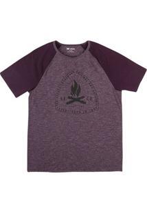 Camiseta Masculina Hering Raglan