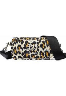 Marc Jacobs Bolsa Estruturada The Leopard - Marrom