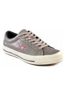 Tênis Converse All Star One Star Ox Cinza Ametista Co02940001