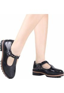 Sapato Dakota Oxford Plataforma Fivela