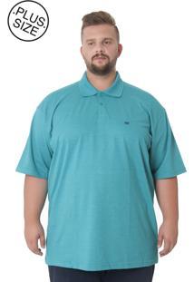 Polo Kairon Plus Size Verde