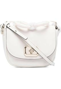 Red(V) Logo-Plaque Crossbody Bag - Branco