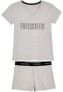 Shortdoll Calvin Klein Viscolycra Elástico