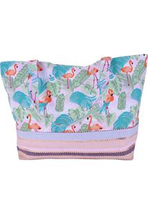 Bolsa Bali Beach De Praia Don Flamingo - Tricae