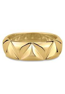 Anel Icona Identidade Ouro Amarelo