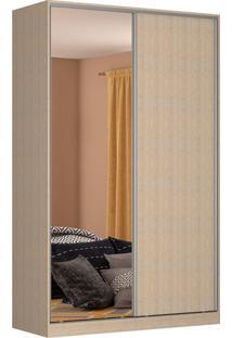 Guarda-Roupa Solteiro Com Espelho Tunas V 2 Pt 3 Gv Noce