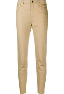 Michael Michael Kors Calça Jeans Skinny Cintura Média - Neutro