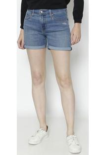 Bermuda Jeans Estonada - Azul Clarolevis