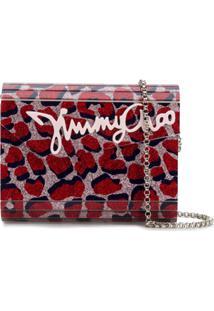 Jimmy Choo Clutch 'Candy' - Vermelho