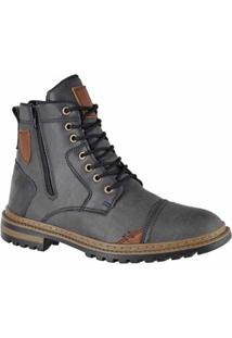 Bota Adaption Masculina - Masculino-Cinza