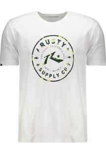 Camiseta Rusty Fractal Portobelo - Masculino
