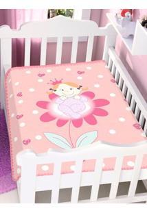 Cobertor Bebê Jolitex Coral