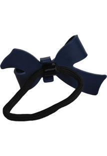 Elástico Acrílico Ania Store Laço Azul