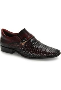Sapato Social Masculino Gofer - Vinho