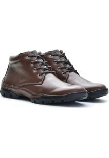 Bota Free Jump Flother Couro Legítimo - Masculino