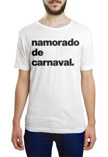Camiseta Hunter Namorado De Carnaval Branca