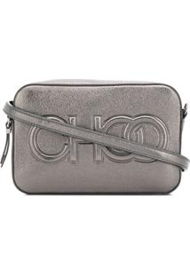 Jimmy Choo Balti Shoulder Bag - Metálico