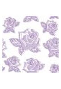 Papel De Parede Autocolante Rolo 0,58 X 3M - Flores 9877866