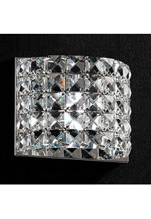 Arandela Cristal Gliss Ho2661W 1G9 13Cm Bella