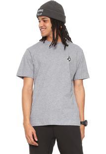 Camiseta Volcom Say When Cinza