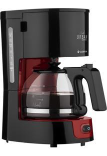 Cafeteira Elétrica Cadence Preta E Vermelha Caf300 - 110V