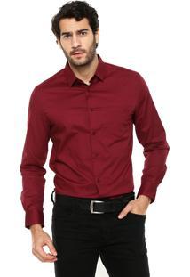 Camisa Sommer Bolso Vinho